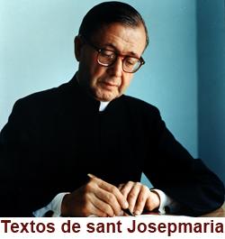 Textos de sant Josepmaria